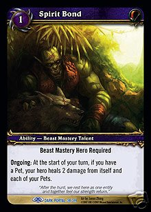 WoW World of Warcraft TCG -- Spirit Bond