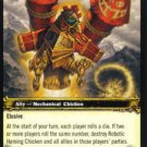 WoW World of Warcraft TCG -- Robotic Homing Chicken NON-Loot
