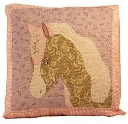 Pem America Giddy Up Horse Pillow New