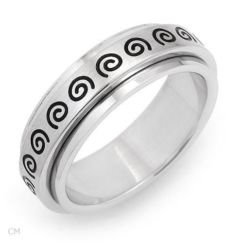 Majestic Gents Ring Made in Stainless steel. Total item weight 7.8g - Size 11