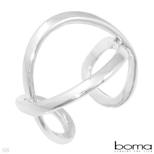 BOMA Elegant Ring Made in 925 Sterling silver- Size 6