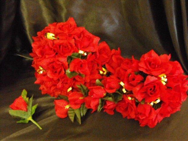 2 Beautiful Wedding Bouquet's 1 Grooms Flower