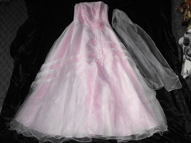 Beautiful Pink Bridesmaids Dress Or gown Lovely Design