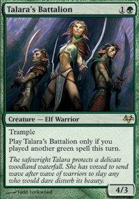 Talara's Battalion