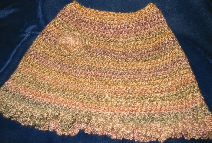 New Hand Crocheted Ladies Capelet Sm/Med (item # PL0001) Acrylic/Polyester blend, Machine wash