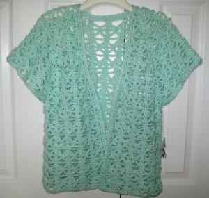 Hand Crocheted Ladies Vest (item # VL0002) Ladies Medium - 100% Acrylic
