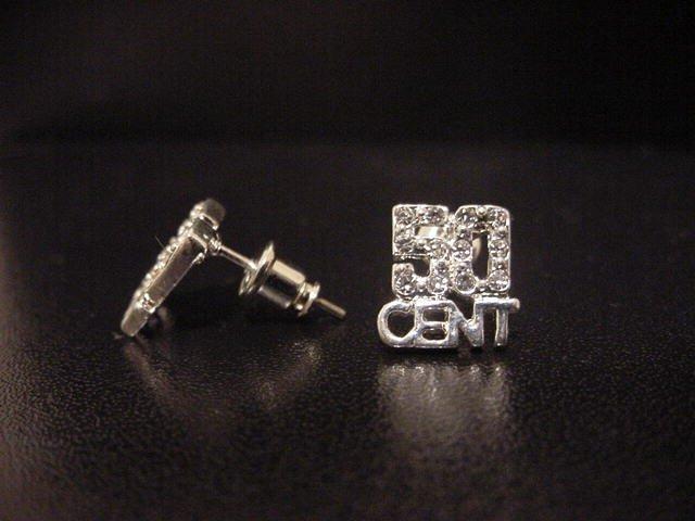 50 Cent Earrings