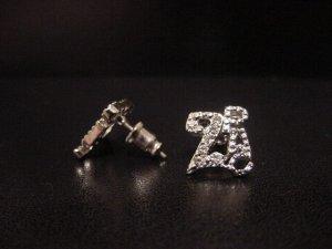 2PAC Silver Plate Earrings
