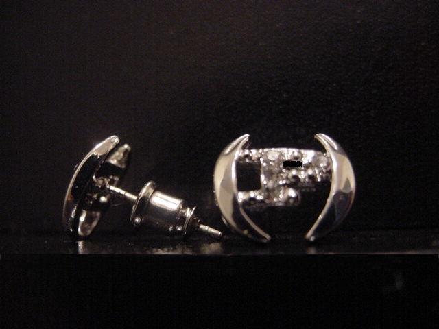 Silver Plate Phat Farm Earrings