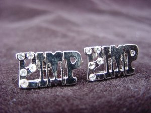 Silver Plated Pimp Earrings