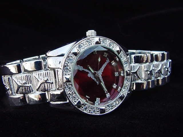 Paved B-BALL AIR - red background Watch