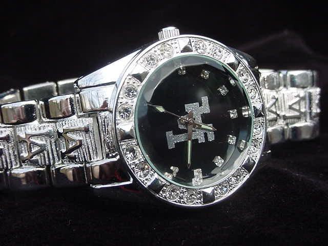 Paved LA - black background Watch