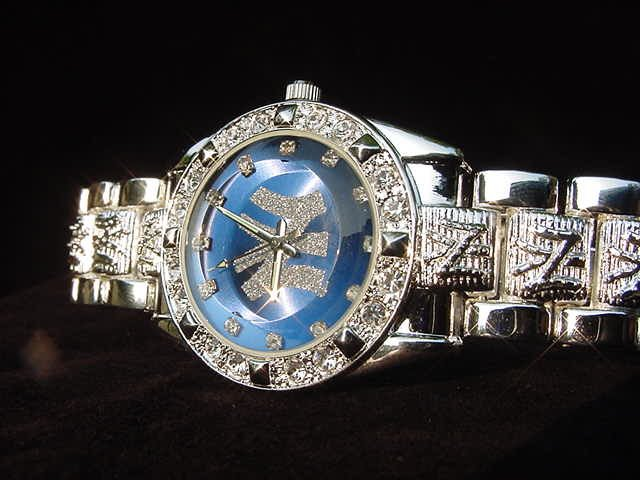 Paved NEW YORK - blue background Watch