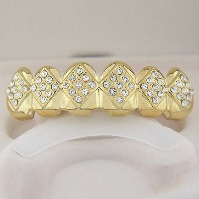 Fifty-Four points Ice Golden Playa Grillz