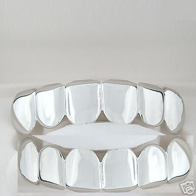 Slver Style Playa Top and Bottom Grill Set