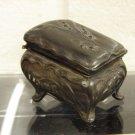 Victorian Metal Jewelry Casket Box