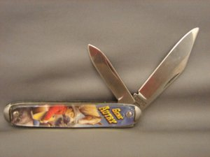 Collectible Gene Autry Double Blade Pocket Knife