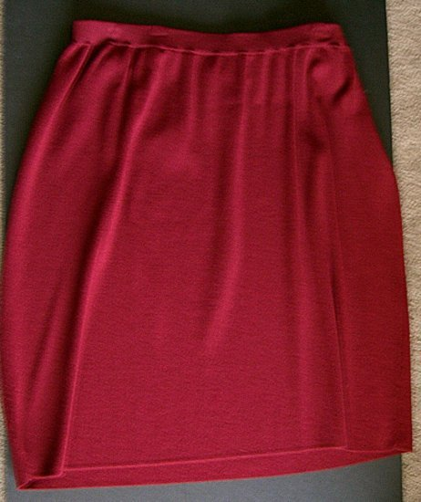 CLEARANCE CHICOS CHICO'S Burgundy Skirt Size Sz 3 (Large 16/18)