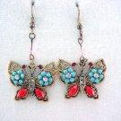 South Western Butterfly Earrings