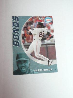 Barry Bonds Baseball Card