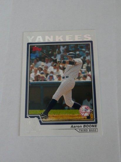 Aaron Boone Baseball Card