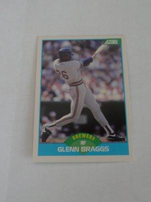 Glenn Braggs Baseball Card