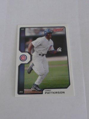 Corey Patterson Baseball Card