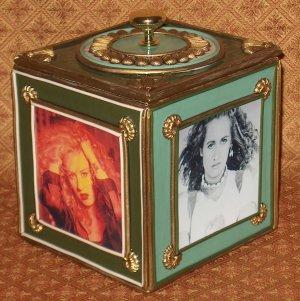 TEENA MARIE Custom-Designed Bookshelf CD Storage Box