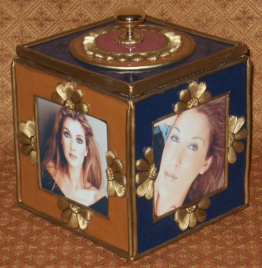 CELINE DION Custom-Designed Bookshelf CD Storage Box