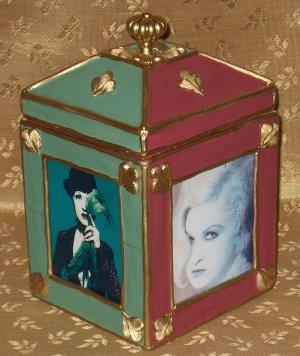 CYNDI LAUPER Custom-Designed Bookshelf CD Storage Box #2