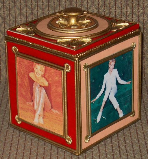 FAITH HILL Custom-Designed Bookshelf CD Storage Box #2