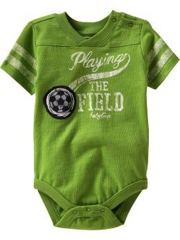 Baby Gap Romper - Playing the Field (6-12M)