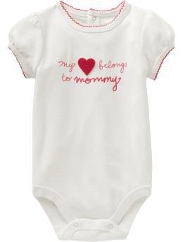 Baby Gap Romper - My Love Belong to Mommy (18-24M)