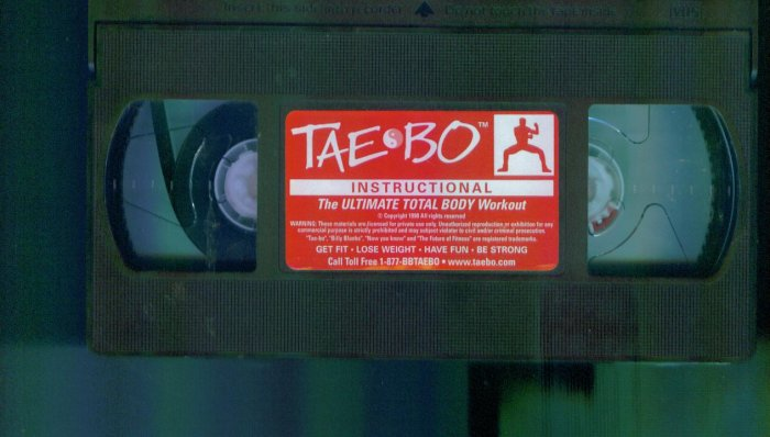 Taebo Instructional Workout ~ Tae Bo Fitness Vhs Tape Video