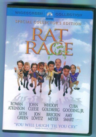 Rat Race ~ Rowan Atkinson John Cleese Whoopi Goldberg Cuba Gooding Jr. ~ Comedy DVD