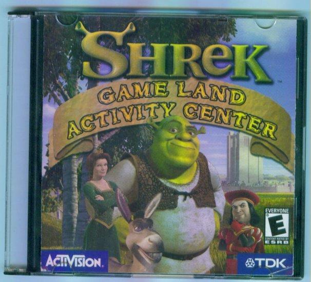 SHREK GAME LAND ACTIVITY CENTER Computer Software CD ~ Activision
