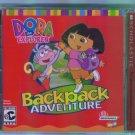 Nick Jr DORA THE EXPLORER BACKPACK ADVENTURE  Computer Software CD  Infogrammes Win Mac