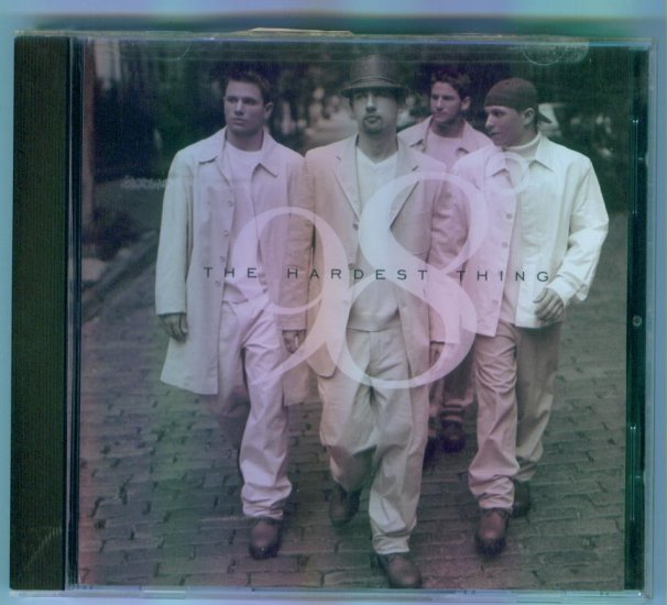 98 Degrees The Hardest Thing ~ Music CD Pop Rock