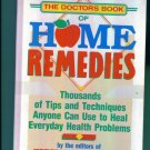 The Doctors Book of HOME REMEDIES  Prevention Magazine Health Books Hardcover