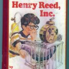 HENRY REED INC Keith Robertson EX Library Hardcover Childrens Chapter Book