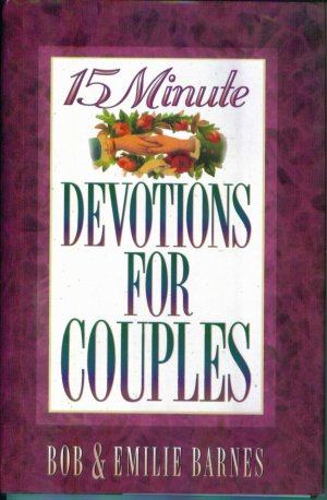 15 Minute DEVOTIONS FOR COUPLES Inspirational Devotional Books Hardcover NIV Bible Quotes locationO3