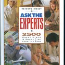 Readers Digest ASK THE EXPERTS 2500 Great Hints & Smart Tips from the Pros locationO6