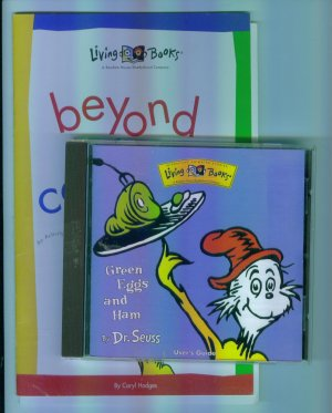 Living Books GREEN EGGS AND HAM Dr Suess With Activity Book for Parents Windows Macintosh 1M