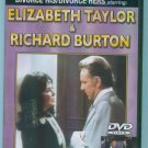 DIVORCE HIS / DIVORCE HERS Elizabeth Taylor Richard Burton Parts One & Two DVD Movie 1M