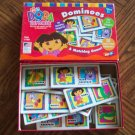 Nick Jr DORA THE EXPLORER Dominoes Ages 3 + No Reading Required Children's Games