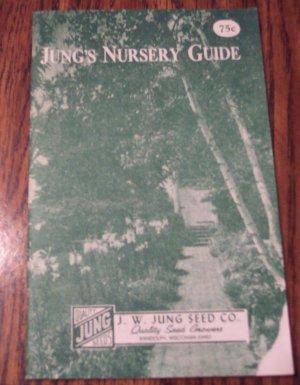 Jung S Nursery Guide Vintage Gardening Book Fruit Trees Shrubs Hedges Roses
