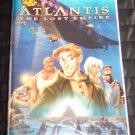 Walt Disney ATLANTIS THE LOST EMPIRE Childrens Family VHS Movie 2M