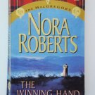 Nora Roberts THE WINNING HAND Series 1202 The MacGregors Paperback Romance Suspense location101