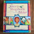 THE JESUS STORYBOOK BIBLE Sally Lloyd Jones JAGO Zonderkidz 4 to 8 Year Olds Bibles loc8