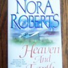 Nora Roberts HEAVEN AND EARTH Romance Suspense Jove Fiction Three Sisters Island Trilogy Book 2
